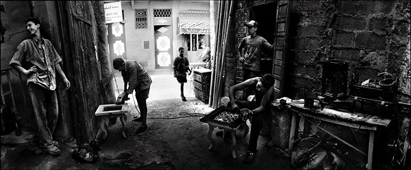 Morocco, Marrakech Carpenters