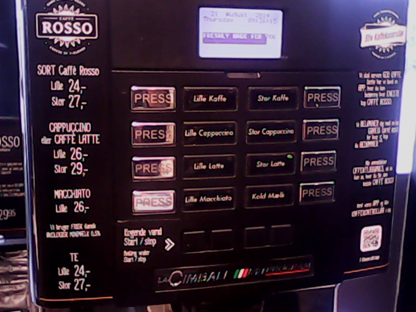 711 coffee machine