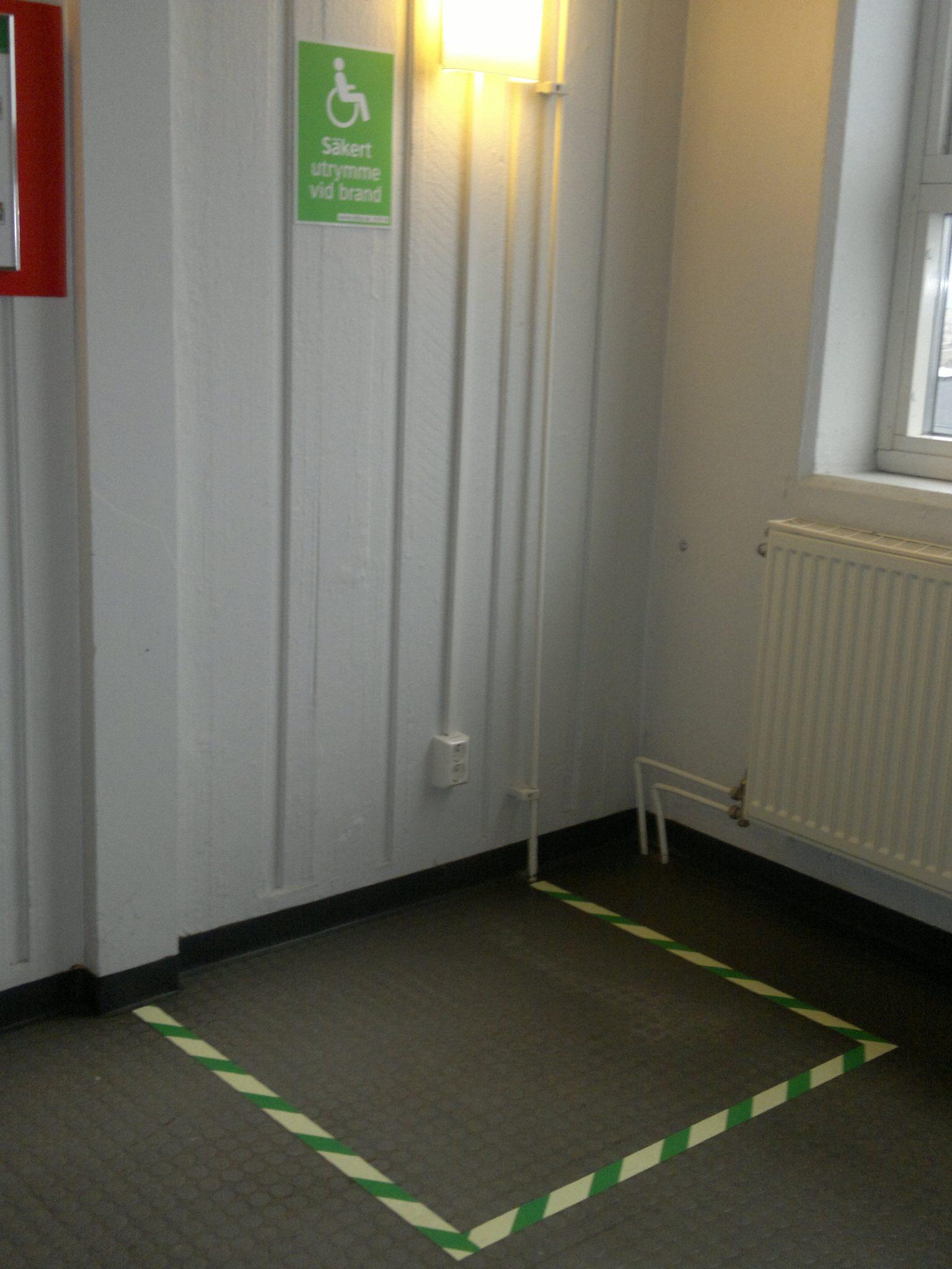 Handicap fire spot