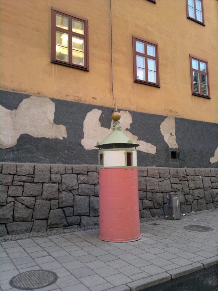 Pissoir in Stockholm